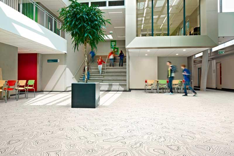 Flooring for educational settings