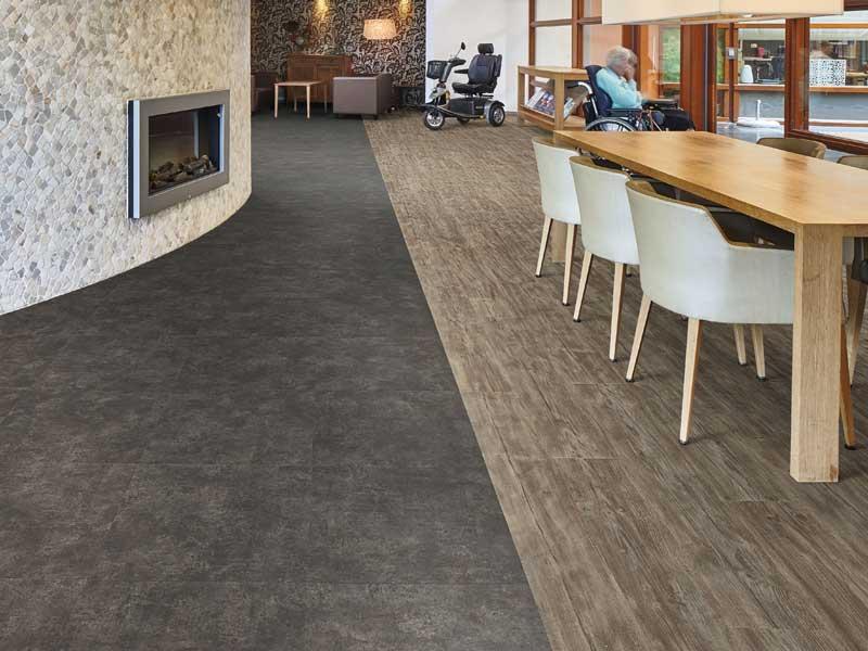Hotl foyer flooring