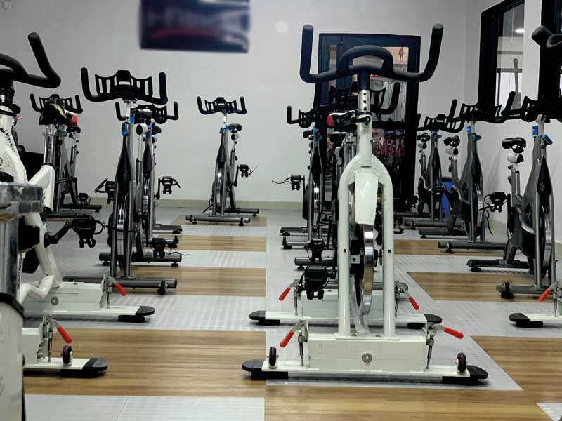 All types of gym flooring