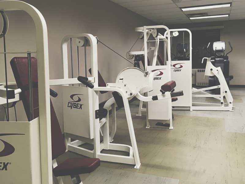Flooring for gyms