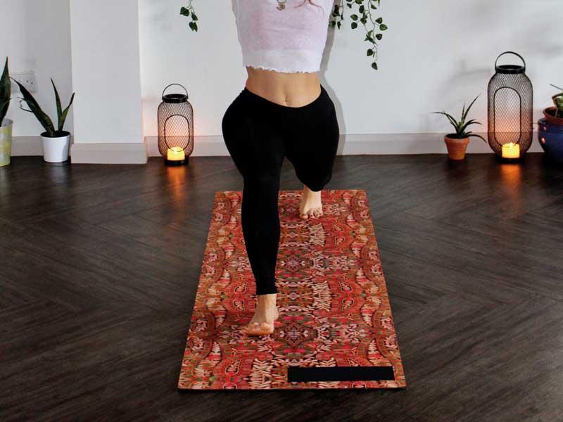 Wood flooring for yoga studios