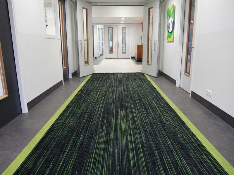Matting for corridors