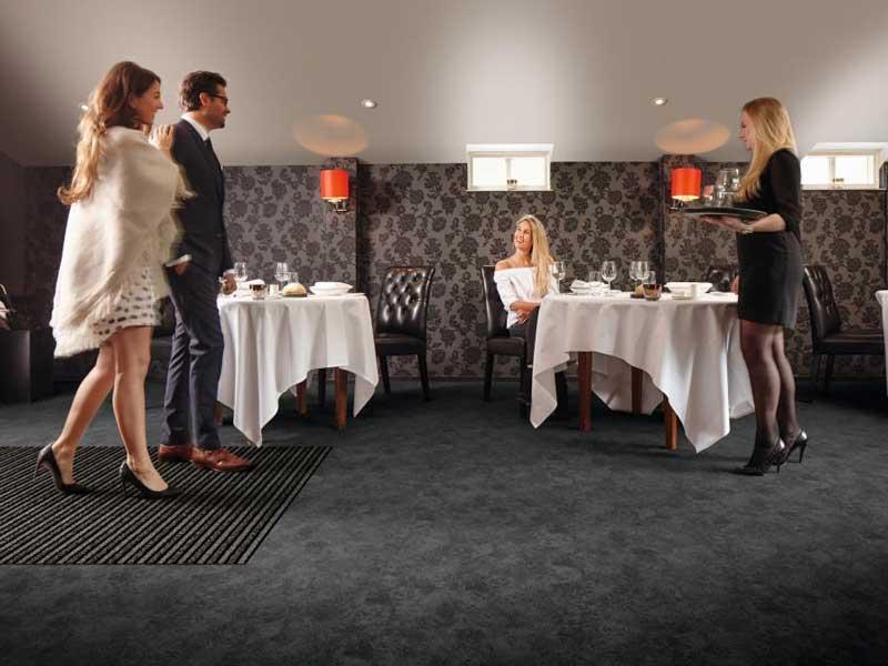 Matting for restaurants