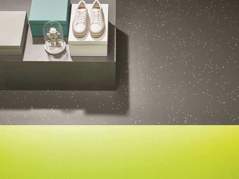 All types of retail flooring