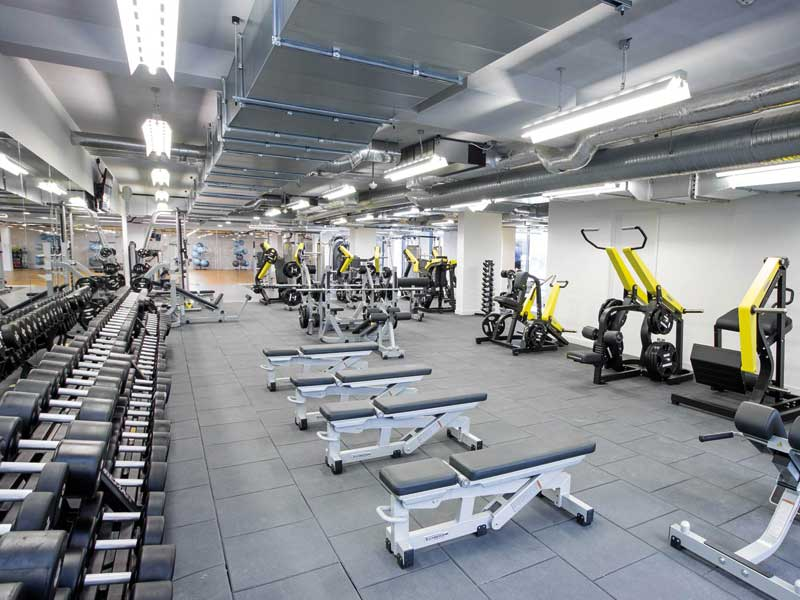 Gym and leisure centre